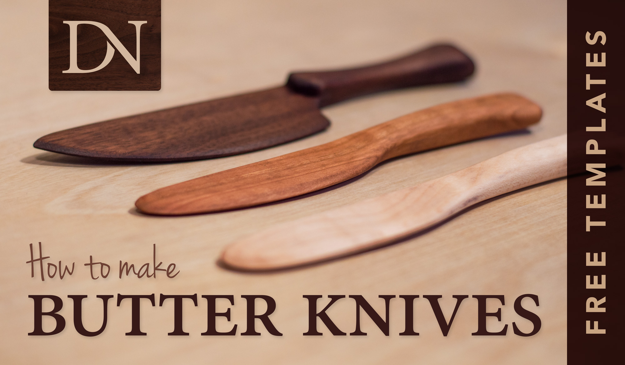 Make Butter Knives Dn Handcrafted